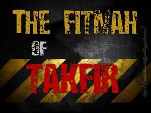 fitnah of takfir mio